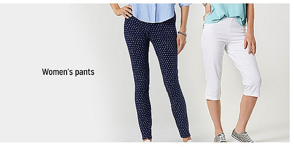 up to 60% off women's pants