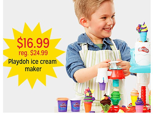 $16.99 reg. $24.99 Play doh ice cream maker