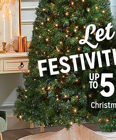 Up to 50% off Christmas Shop
