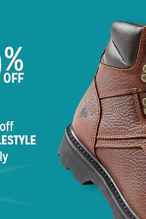 Up to 40% off boots + Extra 25% off with code: YULESTYLE online