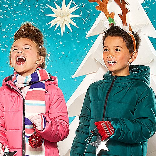 Up to 50% off coats & jackets for the family