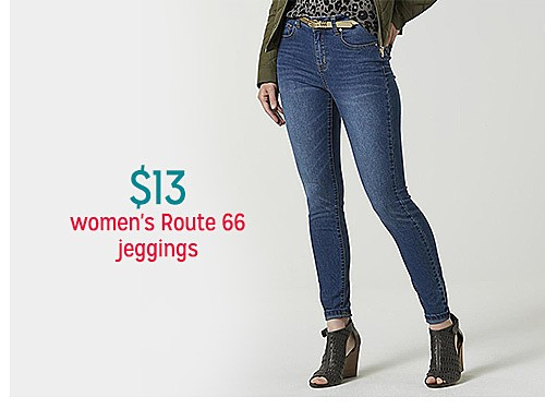 $13 Route 66 Women's Jeggings