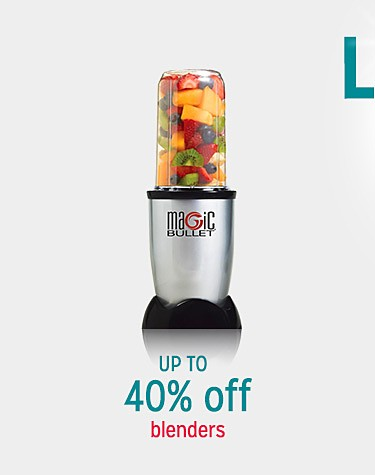 Up to 40% off blenders