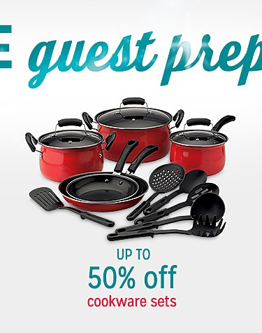 Up to 50% off cookware sets