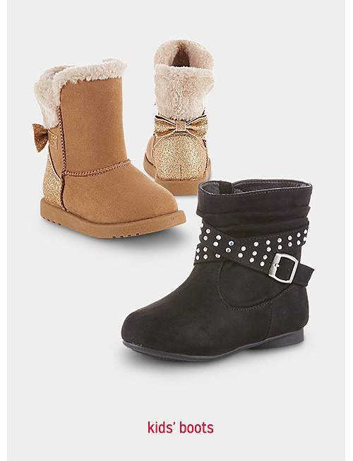 Up to 50% off kids' boots