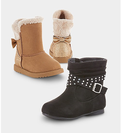 Up to 50% off boots for kids