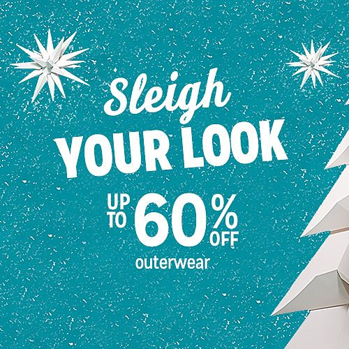 Up to 60% off outerwear for the family
