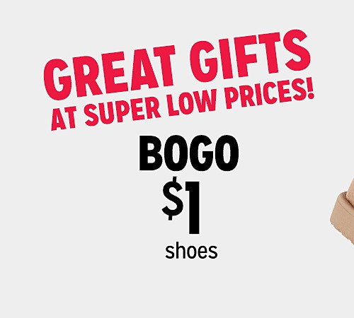 BOGO $1 shoes