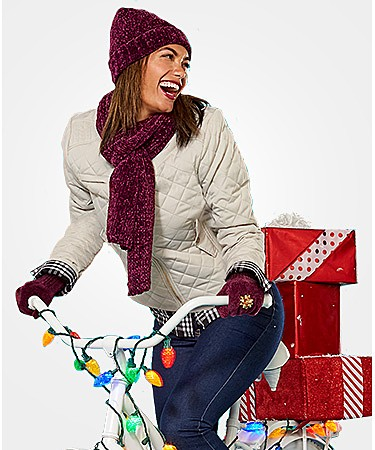 Up to 60% off cold weather accessories