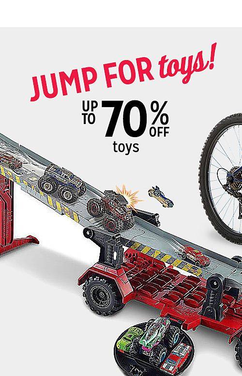 Up to 70% off toys