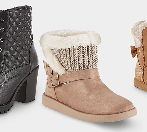 Up to 60% off women's & kids' boots