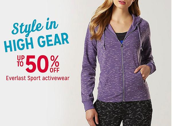 Up to 50% off Everlast Sport activewear