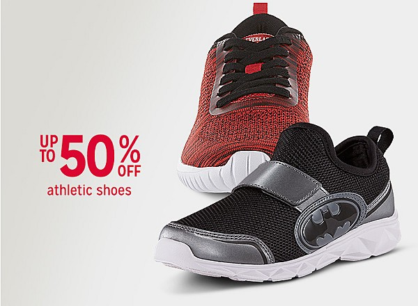 Up to 50% off family sneakers and athletic shoes