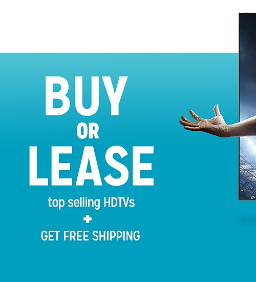 Lease top selling Tvs