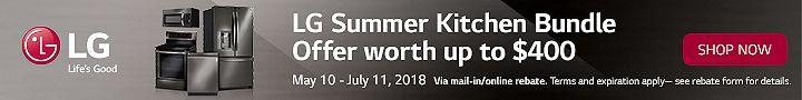 2018 LG Summer Kitchen Bundle Offer