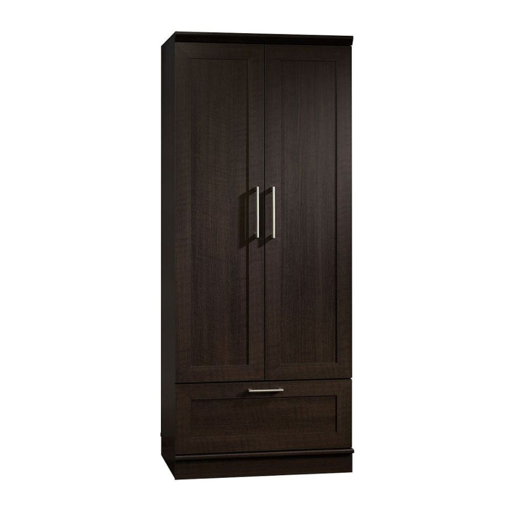 and cabinet on drawers placed organizers co ideas brown walk plus wooden storage white creating with cabinets wall closet tidy smsender interior shelves clothes for a house the pole in tulum hanging extraordinary