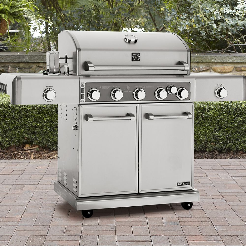 Grills outdoor cooking sears for Gasgrill fur outdoor kuche