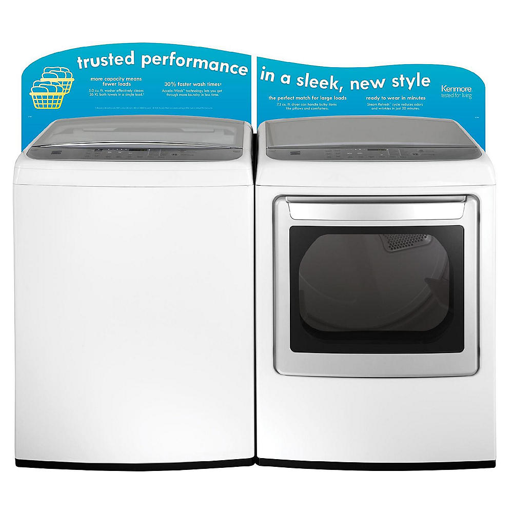 Kenmore Elite Dryers
