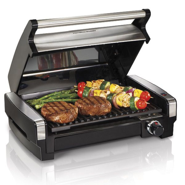 Nonstick indoor grill