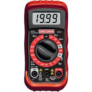 8-function digital multimeter