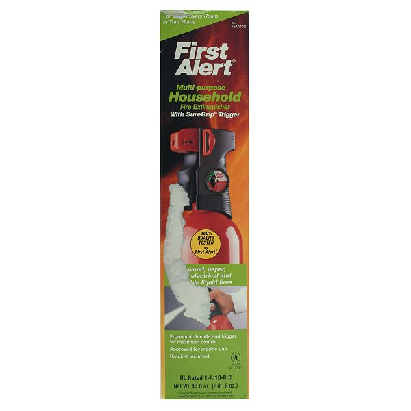 First Alert Household Fire Extinguisher