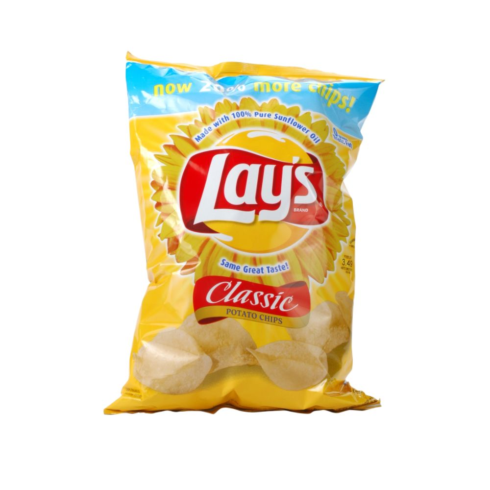 Lays Potato Chips Classic Lay 39 s Classic Potato Chips 12