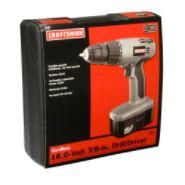 Craftsman 18.0 volt Drill/Driver at Kmart.com