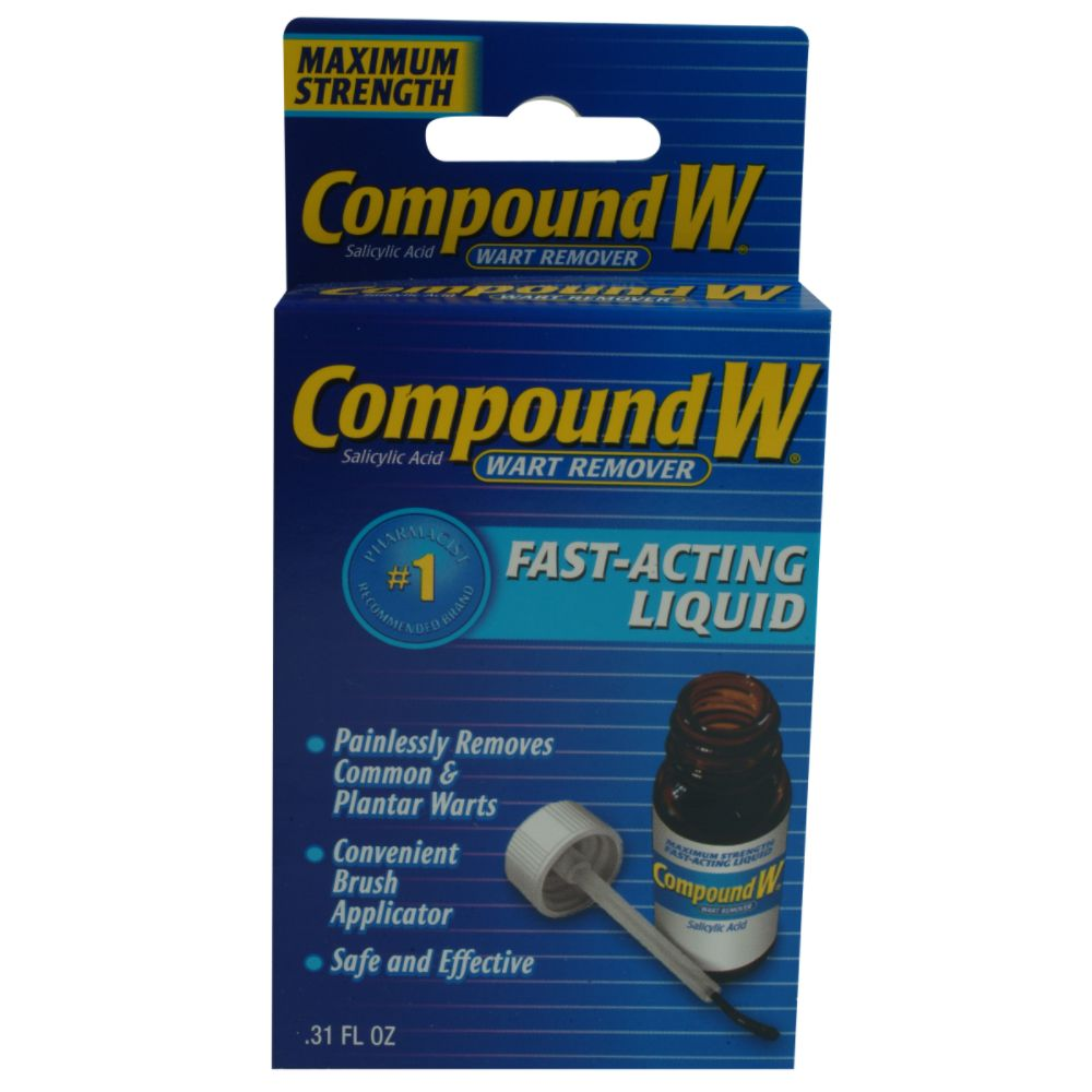 Compound W Fast Acting Liquid .31 oz $ 9.94
