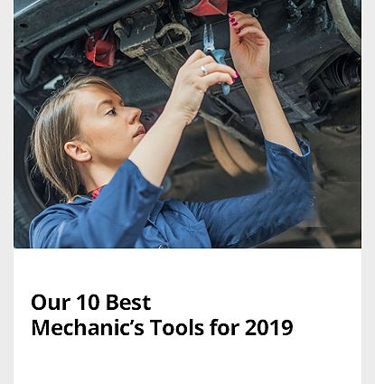 What's New - Our 10 Best Mechanics Tools of 2019