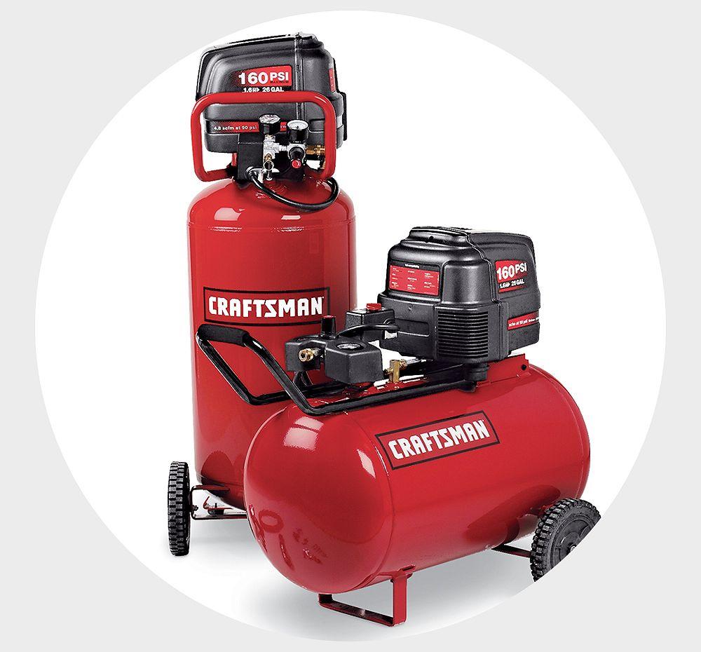 Shop Air Compressors & Air Tools