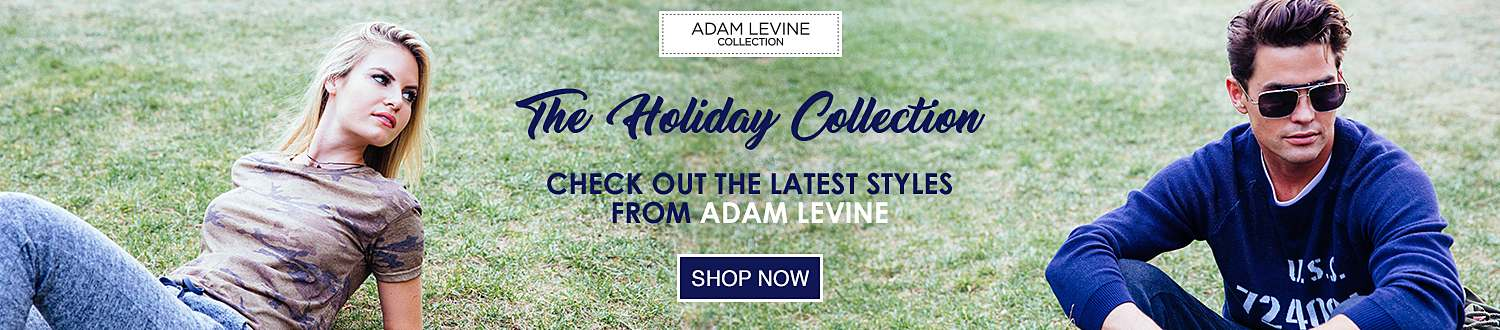 Shop the Newest Holiday Arrivals from the Adam Levine Collection