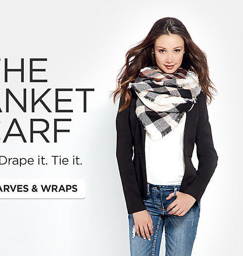 Shop Scarves & Wraps