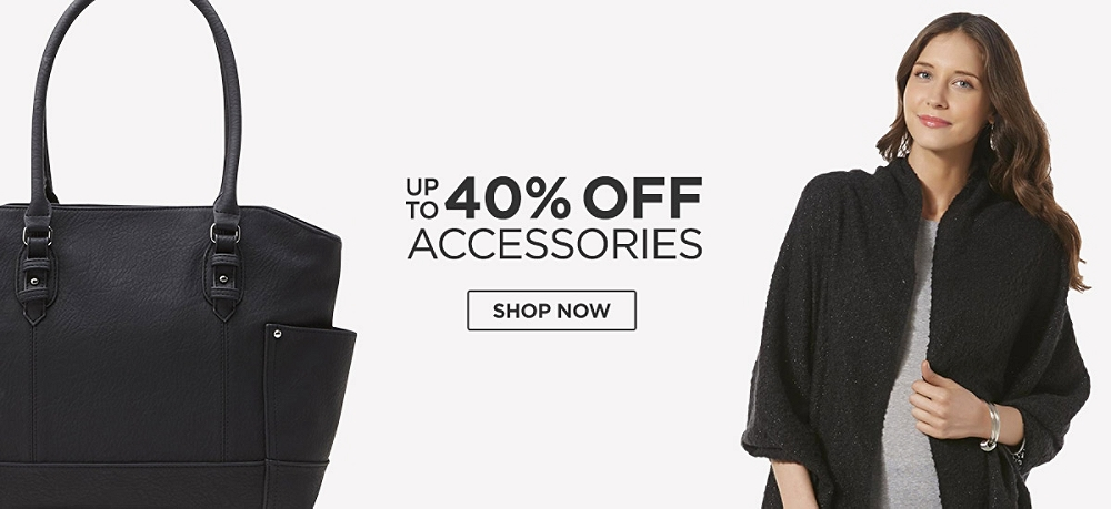Up to 40% off Accessories. Shop Now