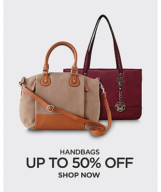 Up to 50% off Handbags. Shop Now