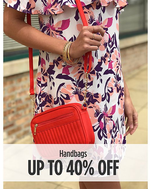Up to 40% off Handbags