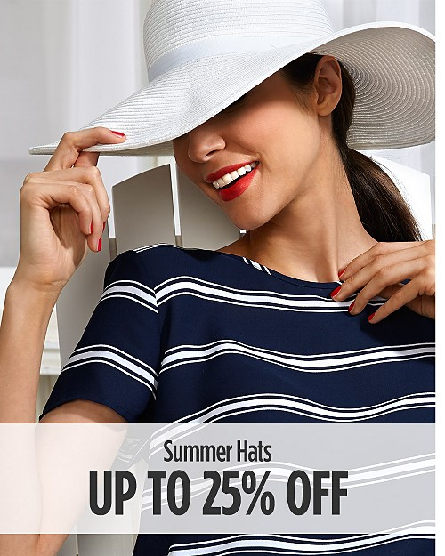 Up to 25% off Summer Hats
