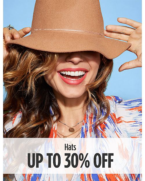 Up to 30% Off Hats