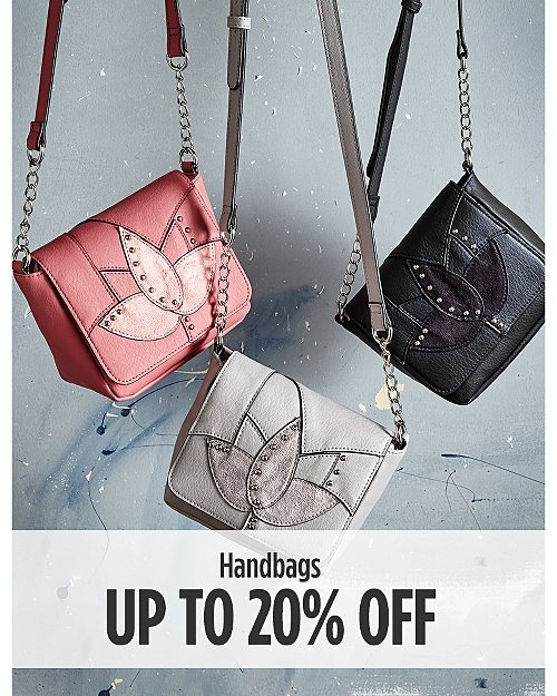Up to 20% off Handbags