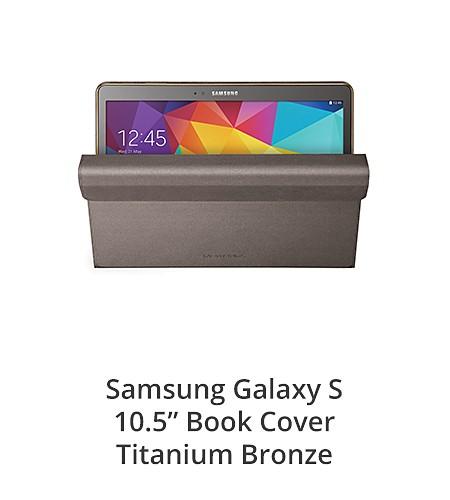 Samsung Galaxy S 10.5 Book cover Titanium Bronze