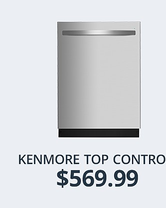 Kenmore Dishwasher w/Third Rack&#x3b; $569.99