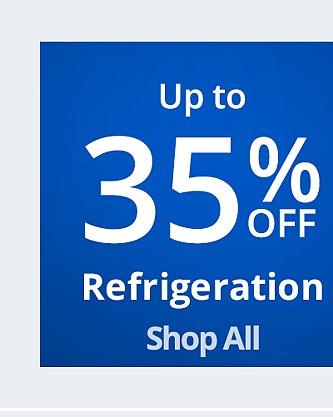 Hasta 35% de descuento en refrigeración