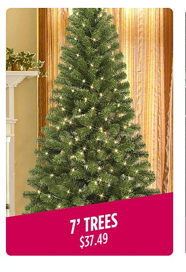 7 foot trees $37.99