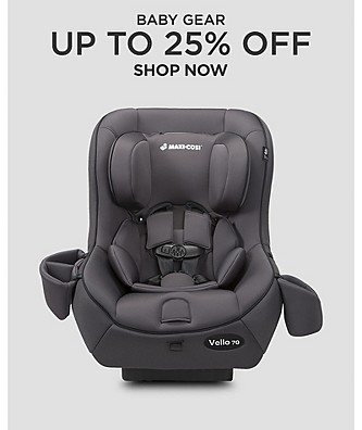 Baby Gear up to 25% off