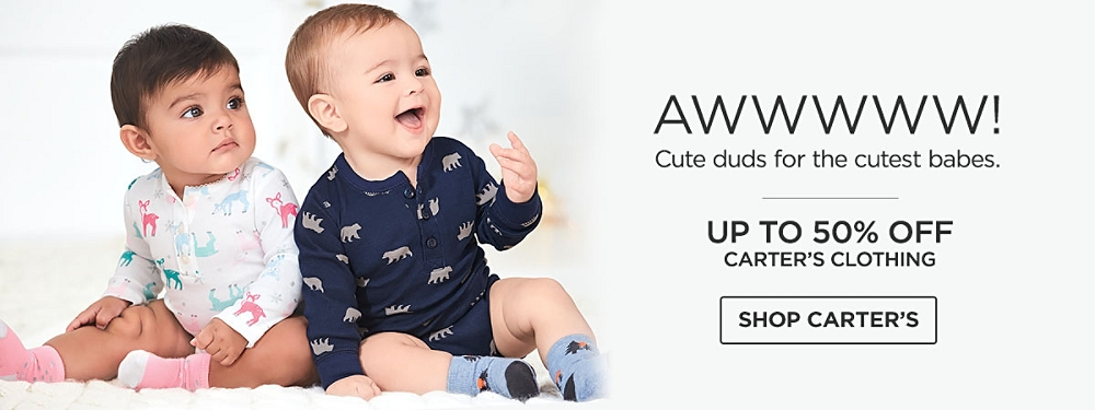 Up to 50% Off Carters