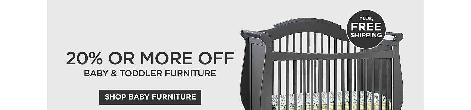 20% or more off baby & toddler furniture