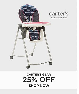 Carter's Gear 25% off