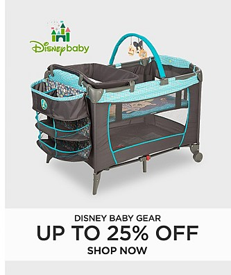 Disney Baby Gear Up to 25% Off