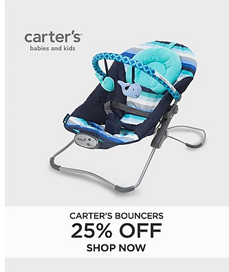 25% off Carter's Bouncers