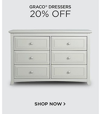 20% off Graco Dressers