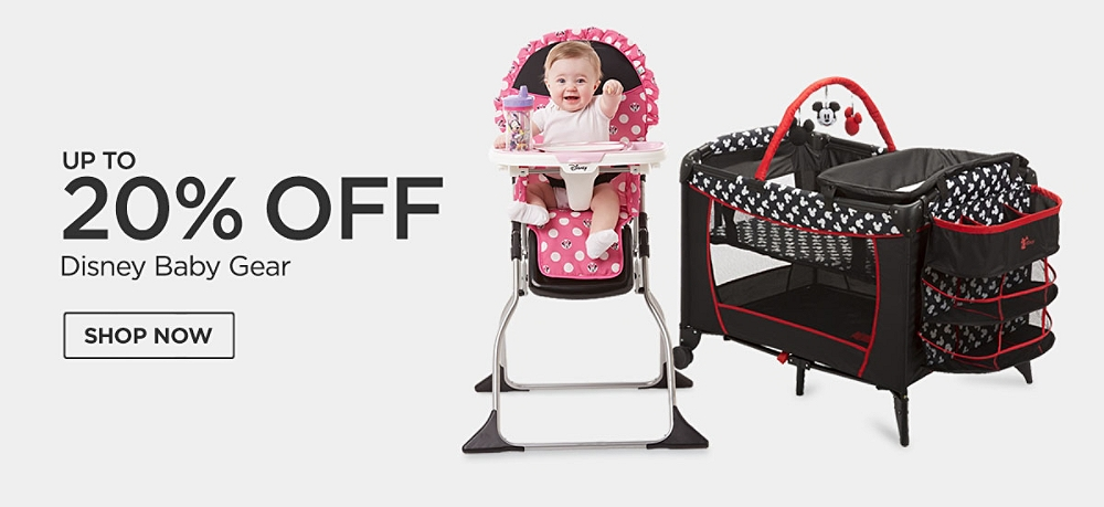 Up to 20% Off Disney Baby Gear